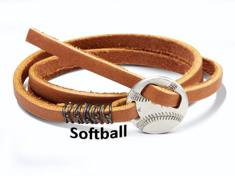 """In Softball as in life, all important things happen at home."" Wristpectable Bracelet"