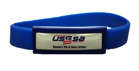 Silicone USSSA Wrist Bands