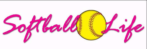 Softball is Life Decal