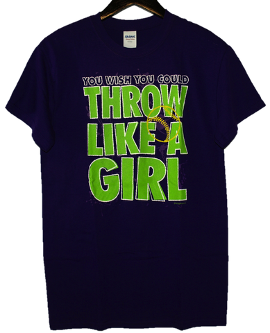 """You Wish You Could Throw Like A Girl"" Short-Sleeve T-Shirt"