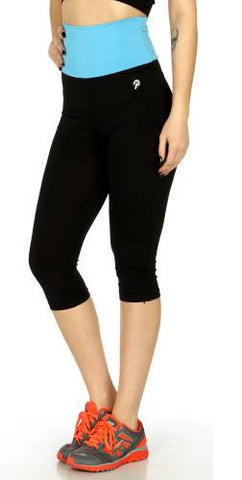 Two-toned Capris Leggings