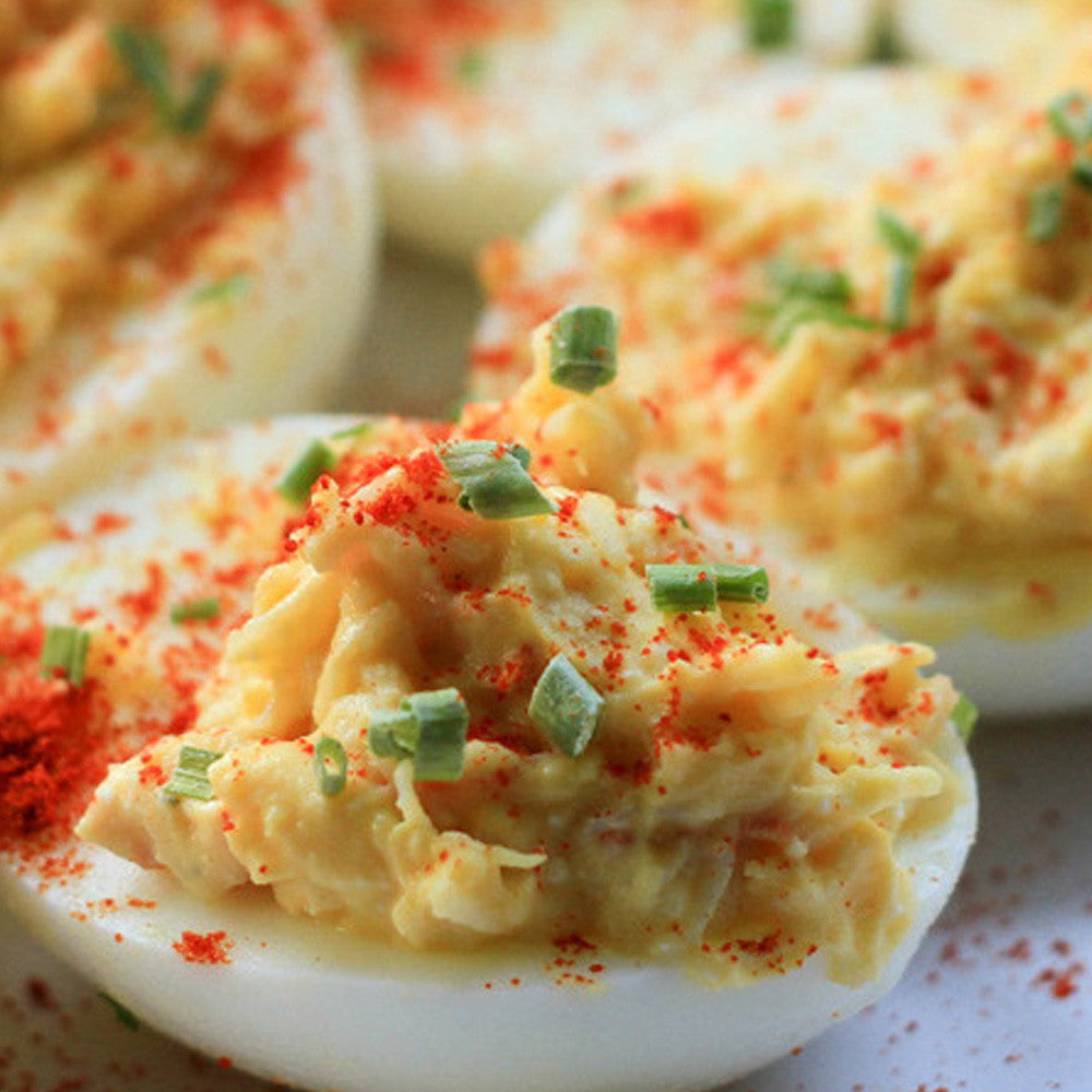Lobster Deviled Eggs