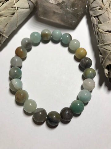 8mm Amazonite Stretch Bracelet