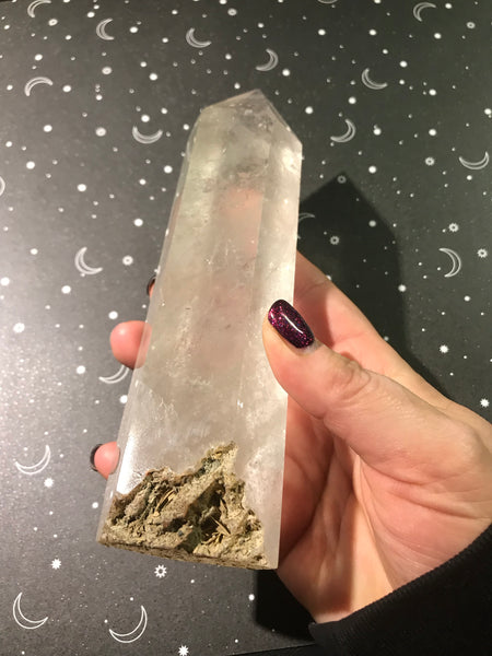 Large Polished Quartz Point