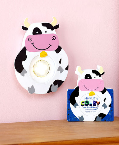 Illuminals - Cow - Timed Night Light
