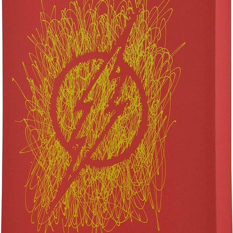 Flash Logo Paint Splatter Canvas