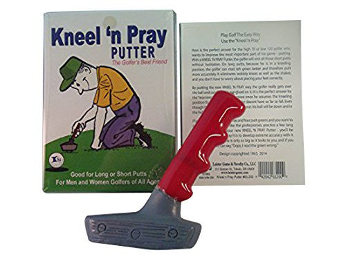 Kneel and Pray Putter - The Red Store .org