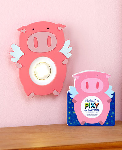 Illuminals - PIXY the PIG - Timed Night Light