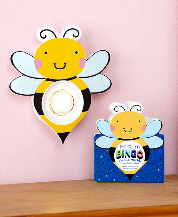 Illuminals - Bee - Timed Night Light