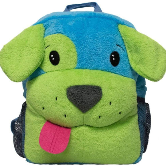 Puppy Plush Kids Backpack With LED Flashing Light