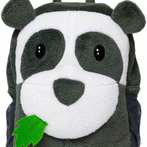 Panda Plush Kids Backpack with LED Flashing Lights