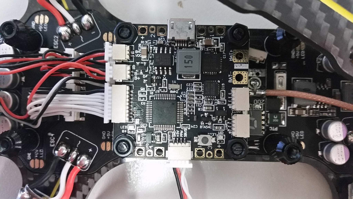 Diatone Tyrant S receiver connection and setup – Phaser FPV