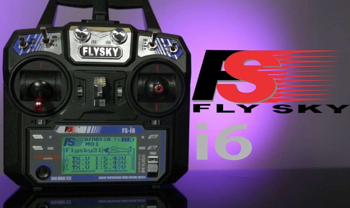 How To Bind Two Flysky i6 Receivers To One Transmitter
