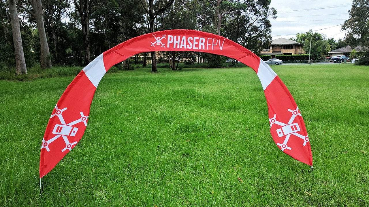 Big Arch Pro Gate Phaser FPV Branded - Designed By LESA - Phaser FPV