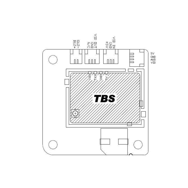 Diatone TBS Unify 5v Low Ripple 30x30 Filter Board ACC-BEC-TBS30 - Phaser FPV
