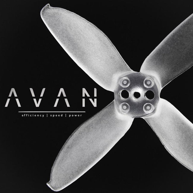 EMAX AVAN MICRO 2 INCH PROPELLER 6 CW + 6 CCW BULK PACK - Phaser FPV