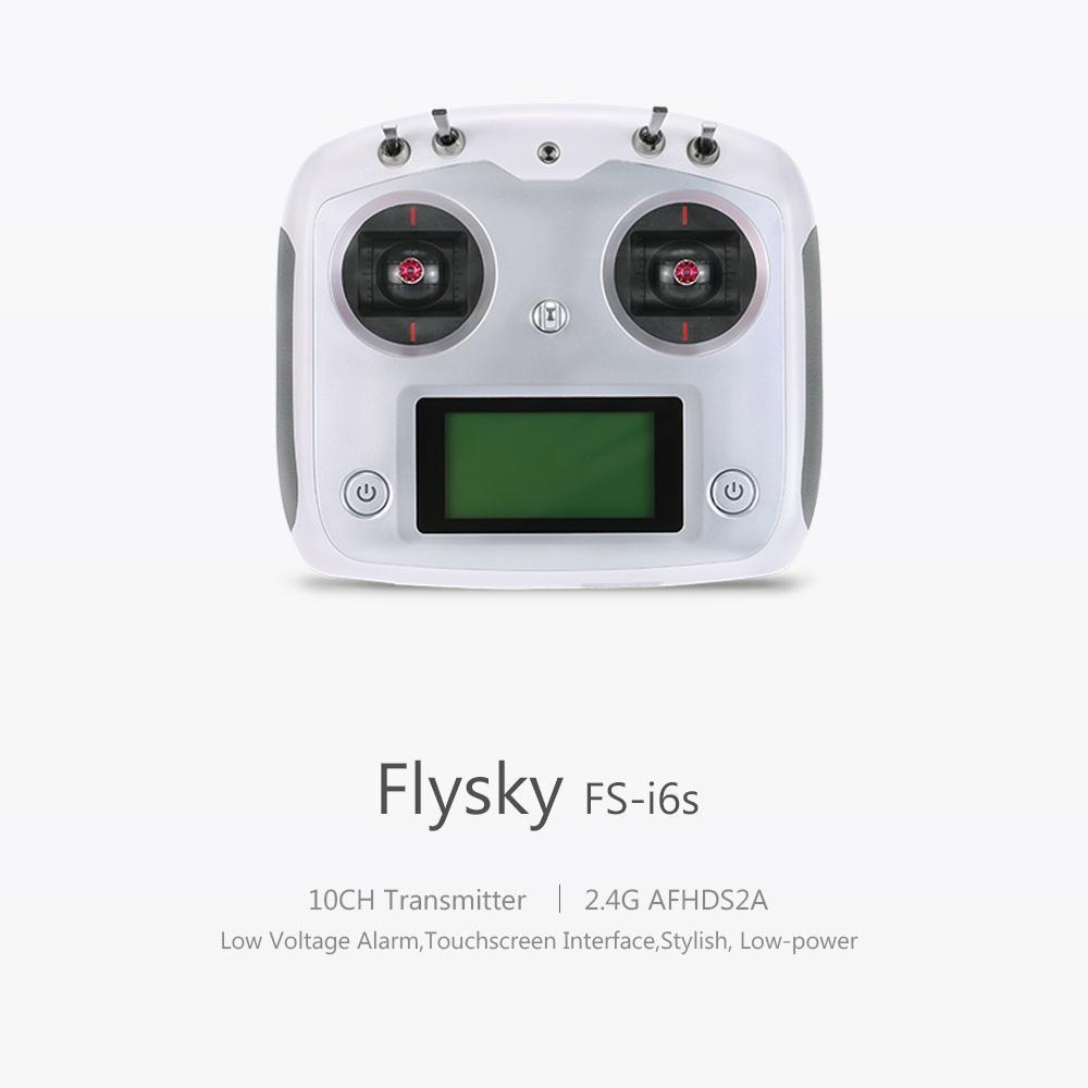 Flysky TGY-i6S Digital Proportional Radio Control System (Mode 2) (White)  with TGY-iA6C Receiver