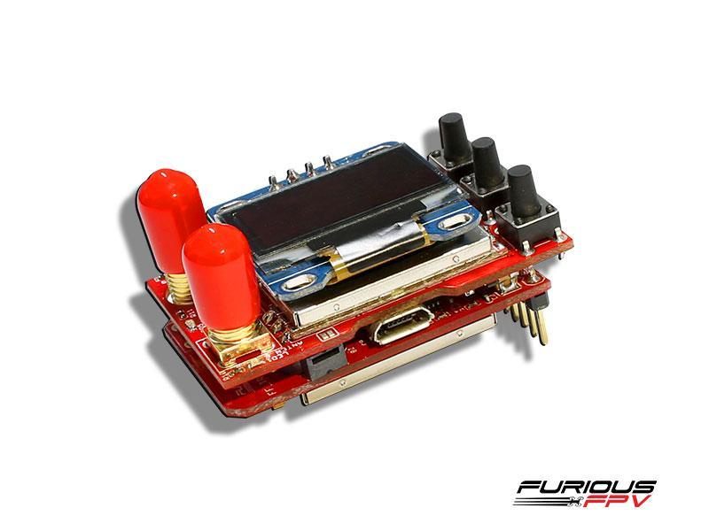 Furious True-D 2.4 GHz Diversity Receiver System For FPV Goggles - Phaser FPV