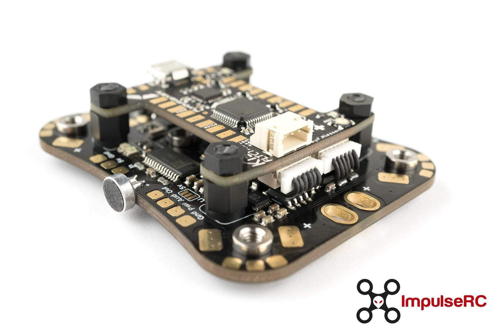 Impulserc Mr Steele Alien Pdb Kit For Kiss With Osd And Mic Phaser Fpv Pin Electret Microphone Amplifier Circuit Schematic On Pinterest