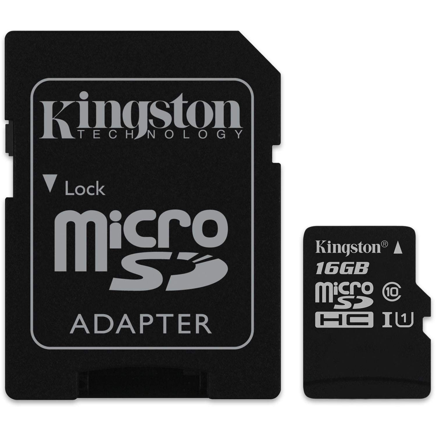 Kingston Micro SD Card 16GB 80R Canvas Select SDCS/16GB