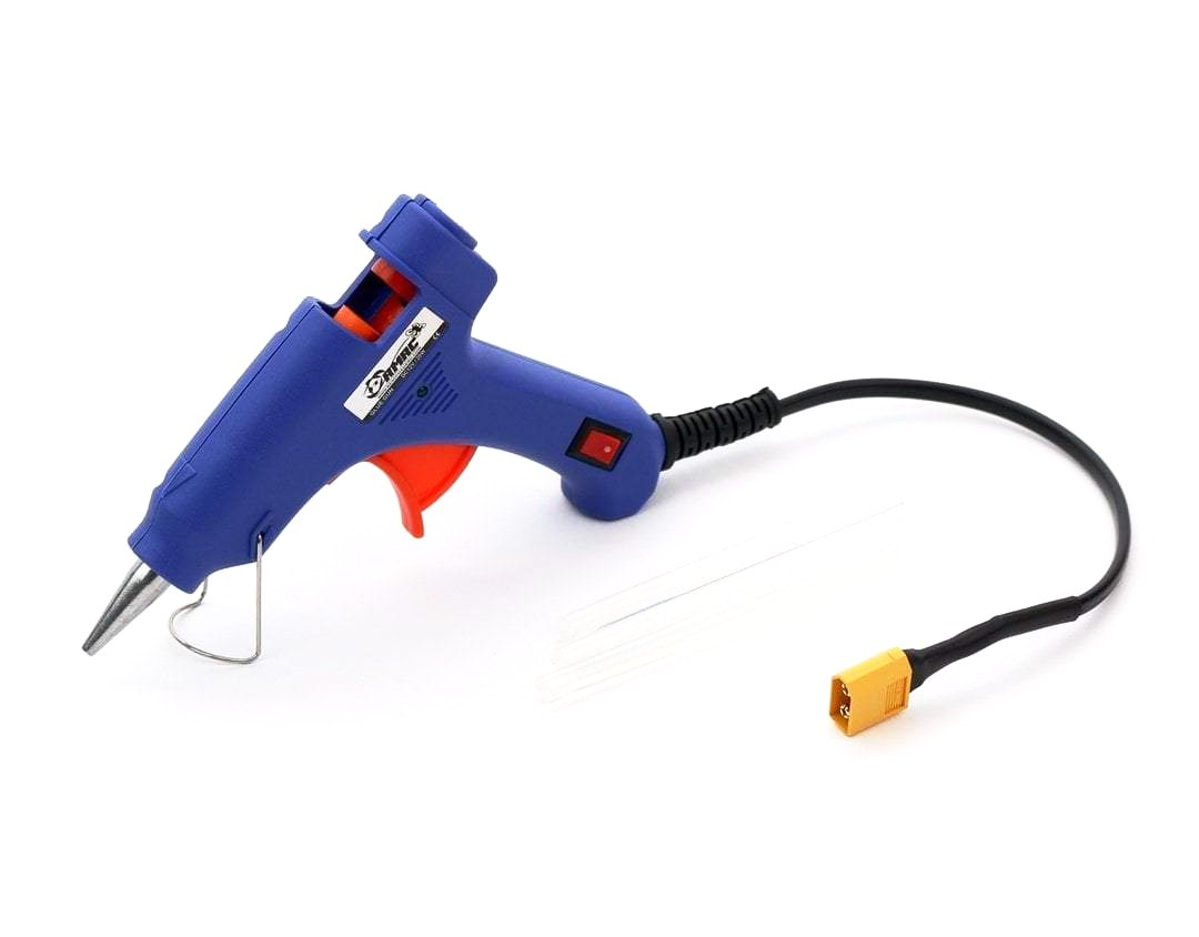 Portable Hot Glue Gun 3-4s  with XT60 Connector