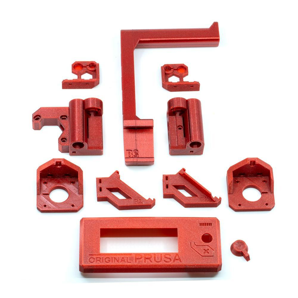 image about Prusa Printable Parts named Prusa MK3 Printable Components Highlights Just within PETG