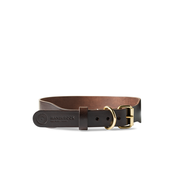 Wave Brown Canine Collar