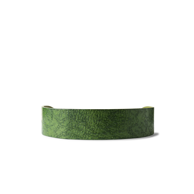 Wave Emerald Canine Collar