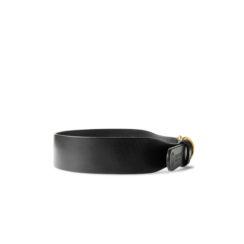 Wave Black Matt Canine Collar