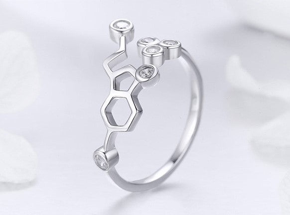 Honey Comb Ring - Sterling Silver