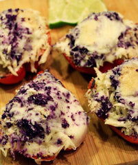 Tangy Italian Risotto Stuffed Peppers