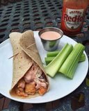 Slow-Cooker Buffalo Turkey Wraps