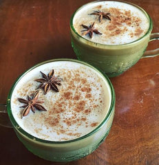 Masala Chai with Coconut Whipped Cream