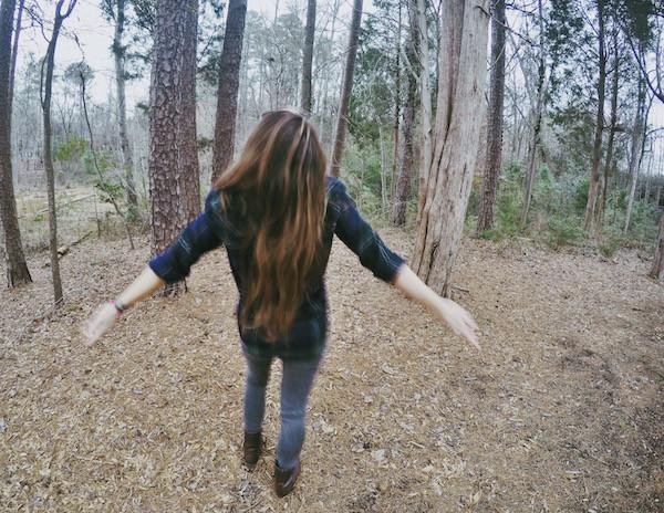 Girl dancing in the trees, Emotional Care Blogs