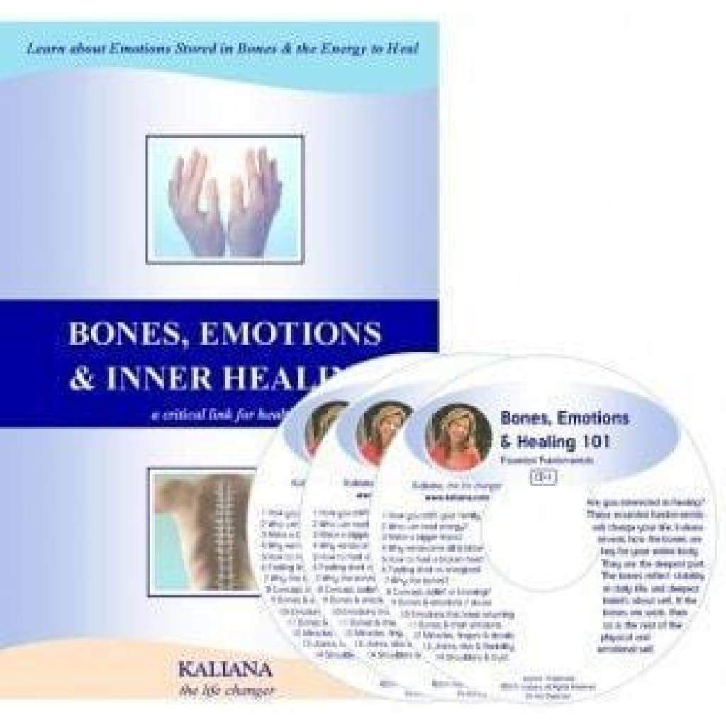 Bones Emotions and Inner Healing - $39.00 (1)