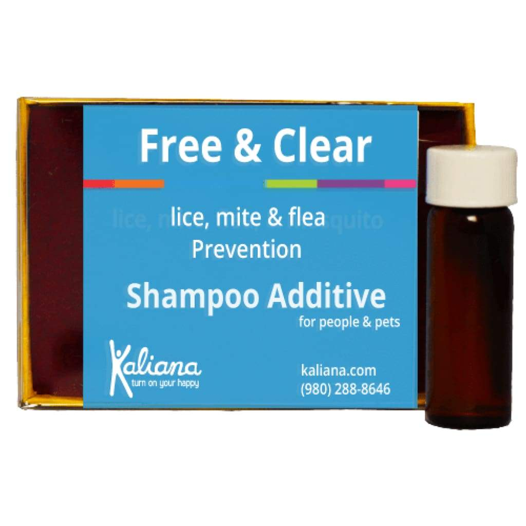 Free and Clear Lice Mite Flea Prevention - 1 Shampoo Additive - $24.95 (1)