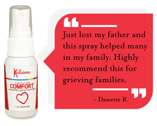 Comfort Emotional Support best aromatherapy mist for grief and heartache.