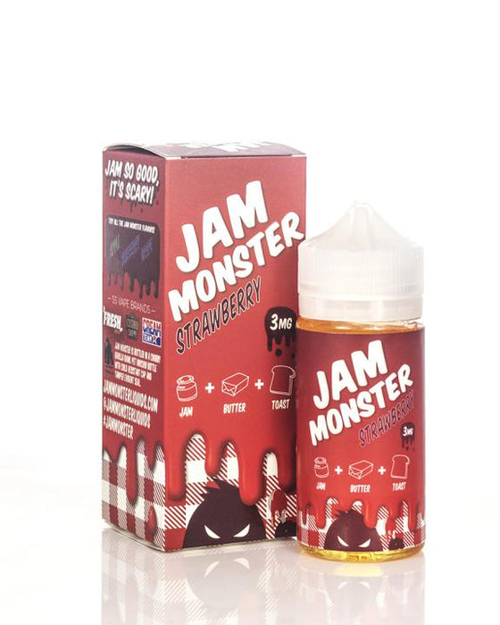 Jam Monster - Strawberry Jam - 100ml
