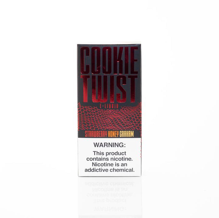 Cookie Twist - Strawberry Cookie E-Liquid - 120ml