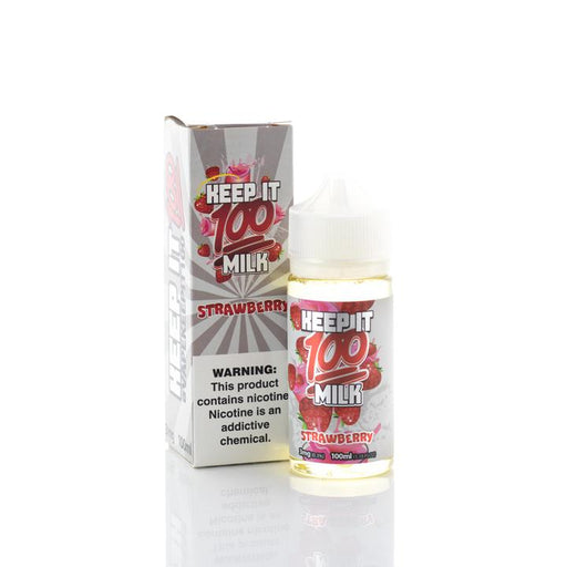 Keep It 100 - Strawberry Milk E-Liquid - 100ml