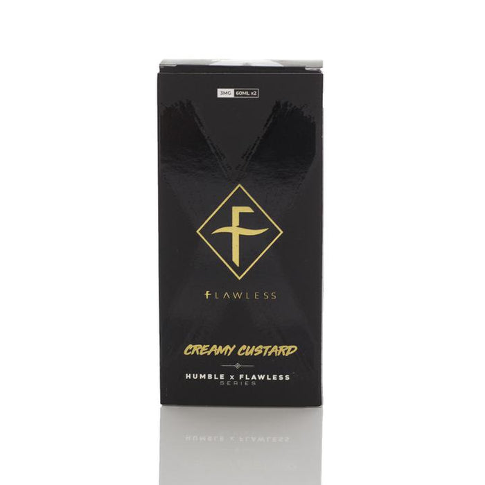 Humble X Flawless - Creamy Custard E-Liquid - 120ml
