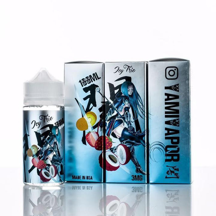 Yami Vapor - Ice Trio E-liquid - 100ml