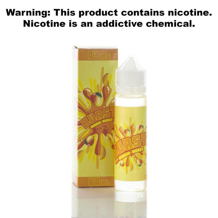 Burst E-Liquid - Mango - 60ml
