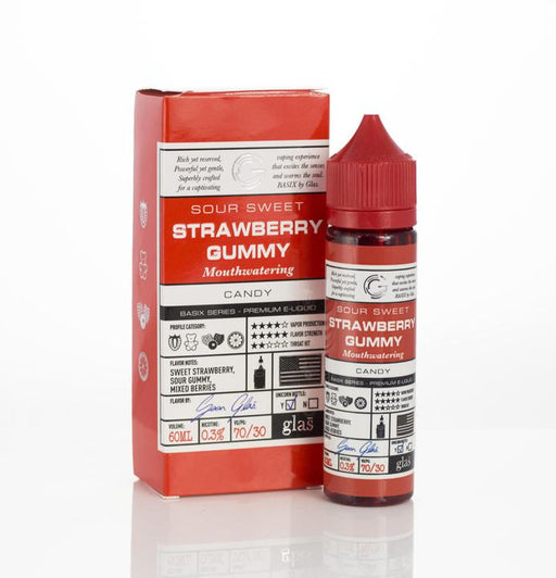 Glas - Basix Strawberry Gummy E-Liquid - 60ml