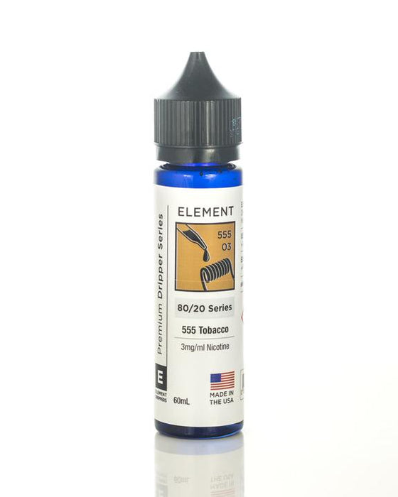 Element - 555 Tobacco E-Liquid - 60ml