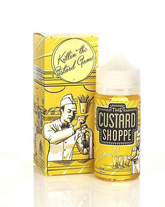 The Custard Shoppe - Butterscotch E-Liquid - 100ml