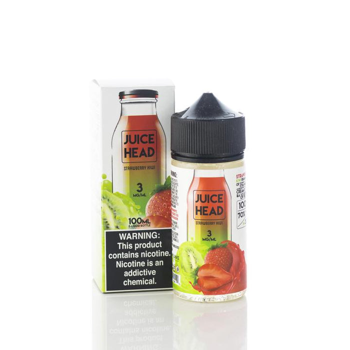 Juice Head - Strawberry Kiwi E-Liquid - 100ml