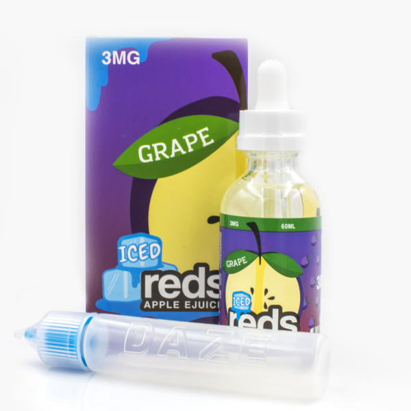 Vape 7 Daze - Reds Grape Juice Ice - 60ml