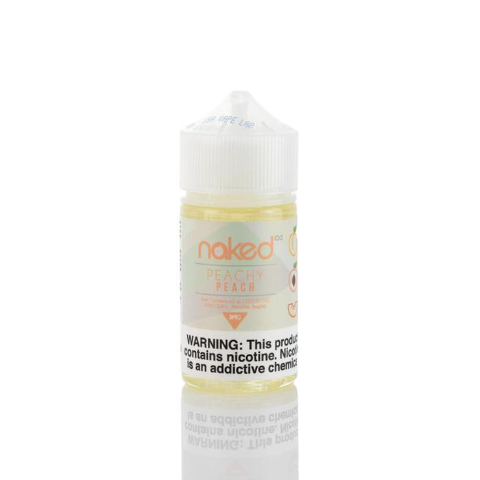 Naked 100 - Peach E-Liquid (Peachy Peach) - 60ml