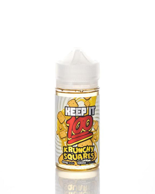 Keep It 100 - Krunchy Squares E-Liquid - 100ml